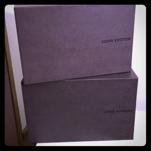 Louis Vuitton Shoe Boxes -